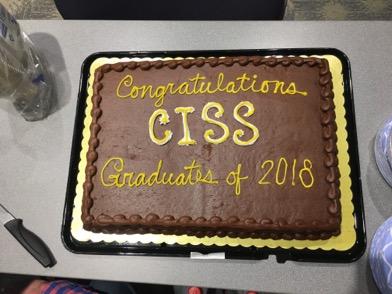 2018 Graduation chocolate cake