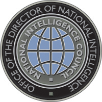 Round logo, office of the director of national intelligence, national intelligence council